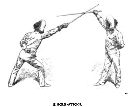 singlestick or is it stick sports in america an investigation i