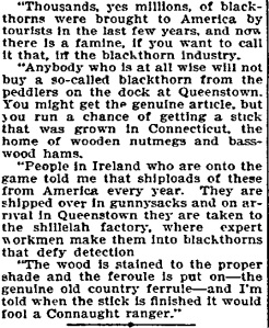 Fake_blackthorns_American_Friday, September 25, 1908 Grand Forks Daily Herald