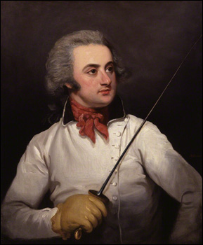 by Mather Brown, oil on canvas, circa 1790